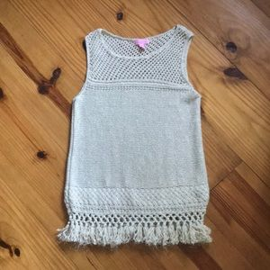 Lilly Pulitzer knit tank